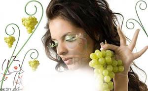 نقش انگور در شادابی و روشنی پوست