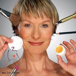نحوه صحیح آرایش یا گریم برای خانم های مسن