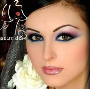 آرایش مخصوص پوست گندمی و چشم های مشکی