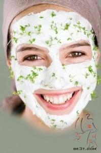 ماسک شیر مفید در لیفت صورت