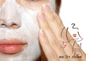 ماسک برطرف کننده لک های سفید پوست