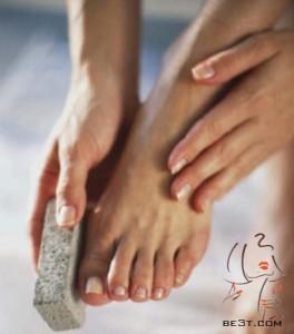 مراقبت از زیبایی پاها در منزل