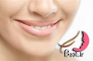 درمان پوسته پوسته شدن لب با نمک