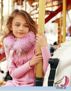 مجموعه لباس های پاییز/زمستان دخترانه طراحی Miss Blue marine  2011.2012