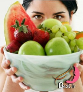 پوستی زیبا و شاداب با مصرف 7 میوه و سبزی