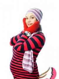 مراقبت های پوستی خانم های باردار در زمستان