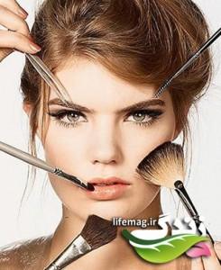 تاثیرات مواد آرایشی غیر بهداشتی بر پوست