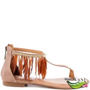مدل صندل هاي فلت تابستاني 2012
