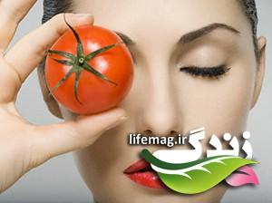با معجزات ماسک گوجه فرنگی آشنا شوید
