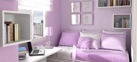 اتاق خواب های کوچک و اصول دکوراسیون آنها + گالری
