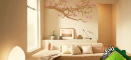 breathtaking-cool-wall-pink-tree