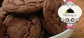 طرز پخت کلوچه شکلاتی رژیمی