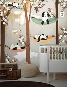 عکس-ایده-های-خلاقانه-برای-تزیین-دیوار-اتاق-کودکان-3