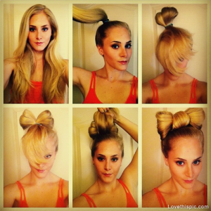 DIY-Hair-Bun-Bow