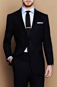 Slim-fit-tuxedo-men-suit-100-wool