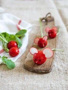 عکس-تزیین-سبزی-خوردن-تربچه-پیازچه-سبزیجات-12