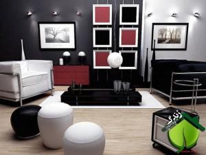 Modern+retro+living+room-300x225