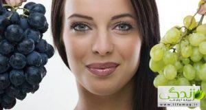 طرز تهیه ماسک انگور جهت پر پشت شدن مو