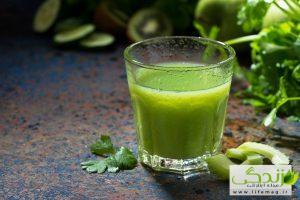 تنظیم وزن با معجزه این نوشیدنی سبز