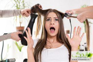 سشوار یا اتو مو کدام بهتر است ؟!